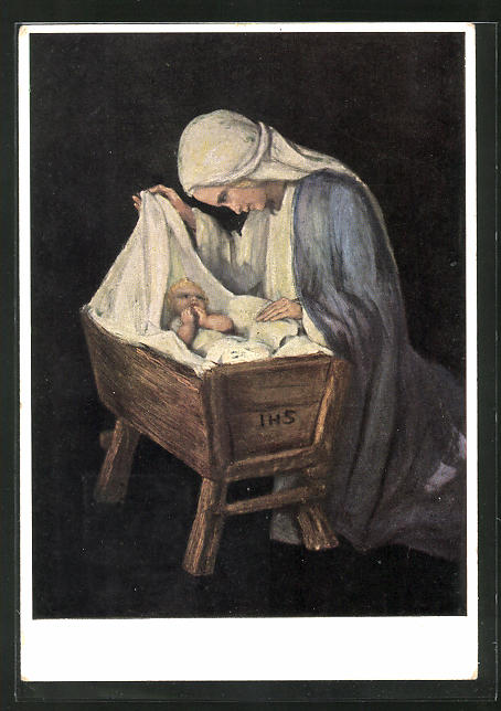 Künstler-AK Maria Spötl: Maria, Du beste Mutter