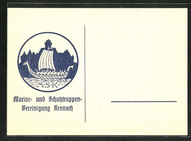 AK Kronach, Marine- und Schutztruppen Vereinigung, Galere