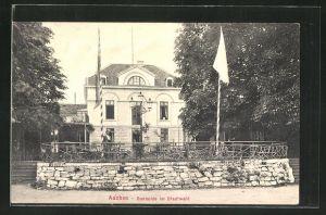 AK Aachen, Gasthaus Ronheide im Stadtwald