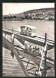 AK Zürich, Kantonale Landwirtschafts- & Gewerbe-Ausstellung 1947, Züka-Gleitbahn