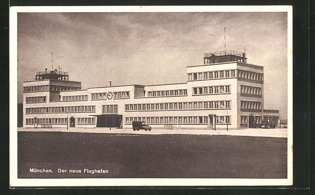 AK München, Der neue Flughafen