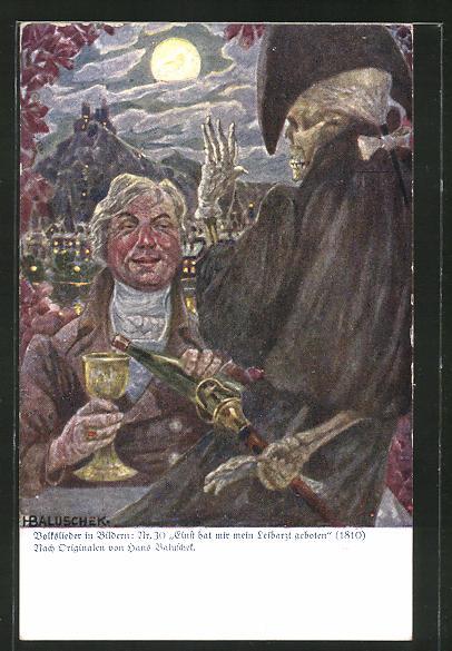 Künstler-AK Hans Baluschek: