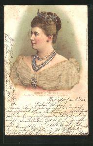 AK Portrait Kaiserin Auguste Victoria Königin von Preussen