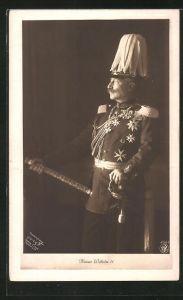 AK Kaiser Wilhelm II. in Uniform
