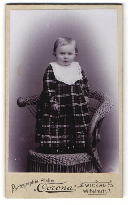 Fotografie Atelier Corona, Zwickau, Portrait Kleinkind in Kleidchen