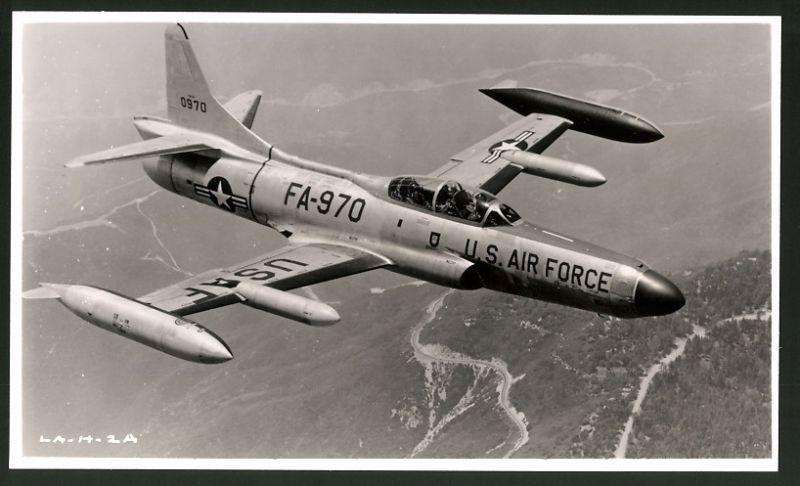 Fotografie Flugzeug Lockheed F-94 der USAF