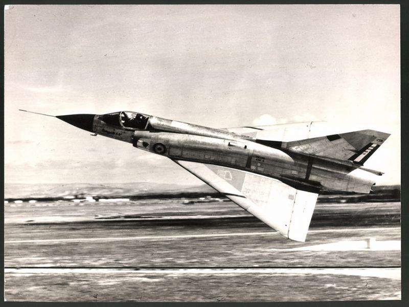 Luftfahrt & Zeppelin Fotografie Flugzeug Dassault Mirage G8 Der Französischen Luftstreitkräfte