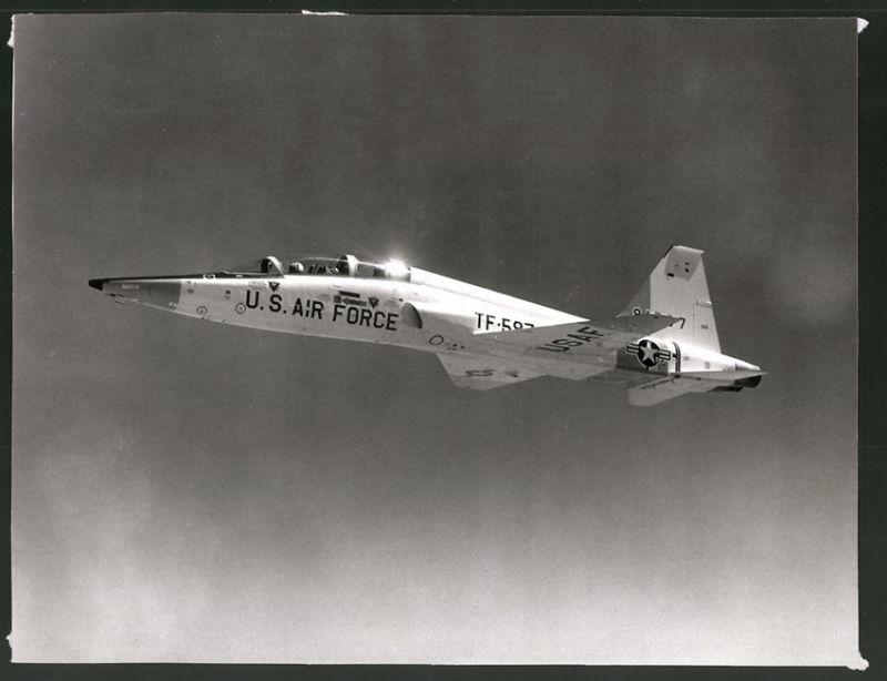 Bilder & Fotos Fotografie Flugzeug Northrop T-38 Der Usaf In Formation
