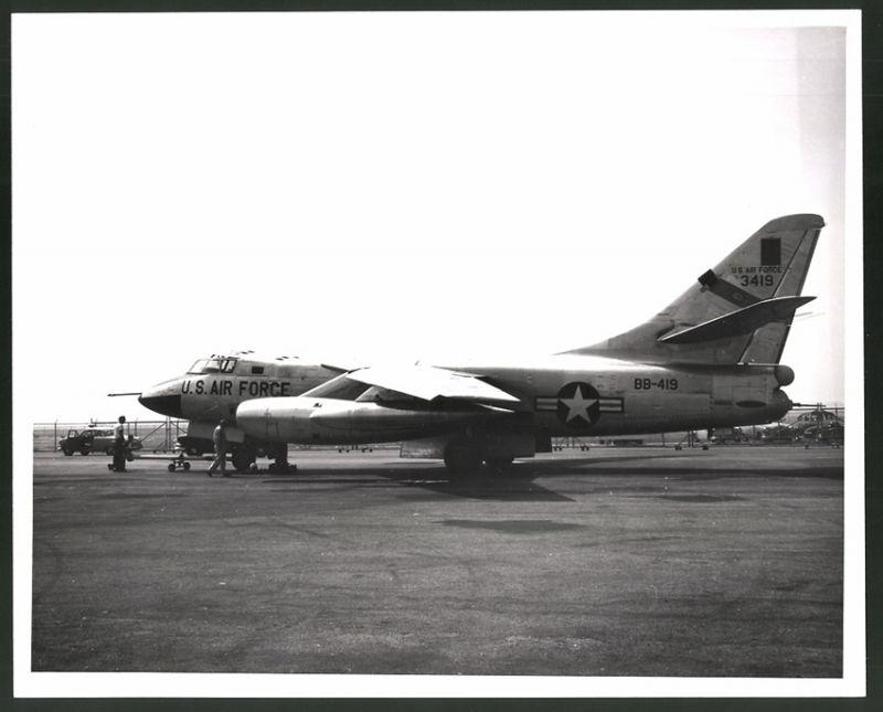 Sammeln & Seltenes Fotografie Flugzeug Rockwell B1 Der Usaf Großformat 25 X 20cm Transport
