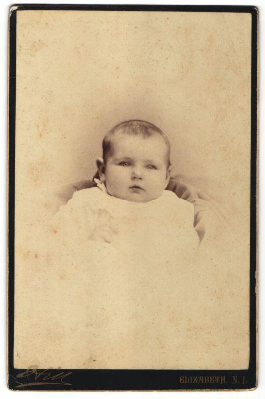 Fotografie Hill, Elizabeth, NJ, Portrait Säugling