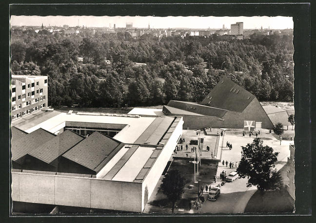 AK Berlin, Kunstakademie im Hansaviertel