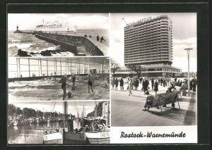 AK Rostock-Warnemünde, Färschiff Warnemünde, Hotel Neptun