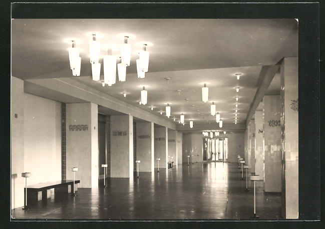 AK Leipzig, Vestibül im Opernhaus