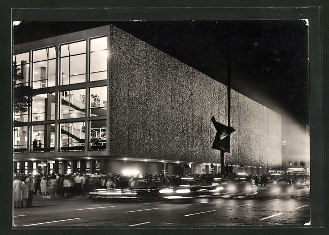AK Berlin, Deutsche Oper bei Beleuchtung