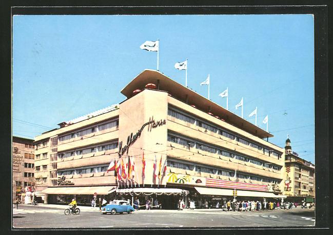 AK Mannheim, Hansa-Kaufhaus am Paradeplatz