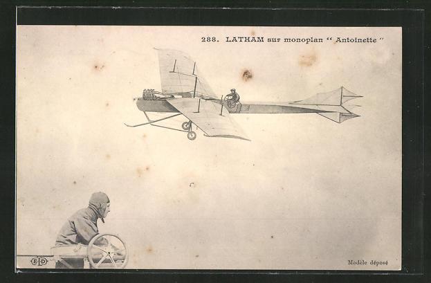 AK Flugzeug-Pioniere, Latham sur monoplan