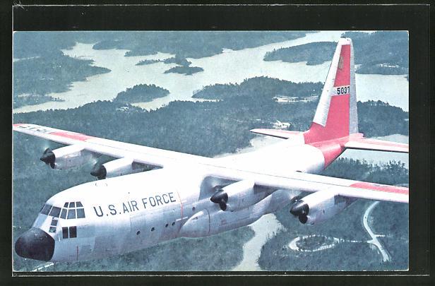 AK Lockheed Hercules der U. S. Air Force