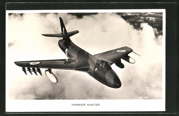 AK Hawker Hunter der N.A.T.O.