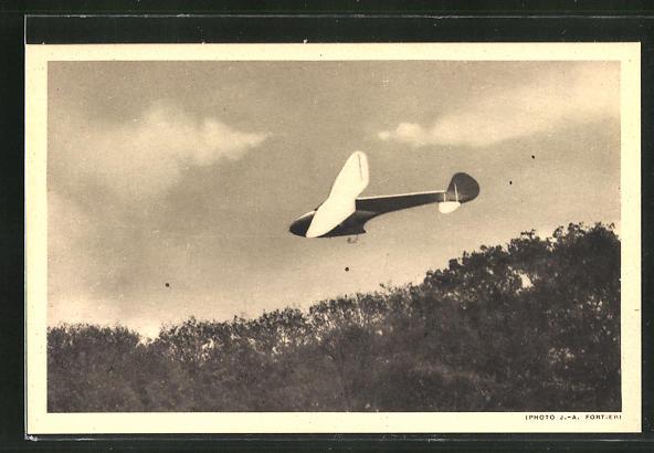 AK Planeur d'entrainement Delanne 60, Segelflugzeug