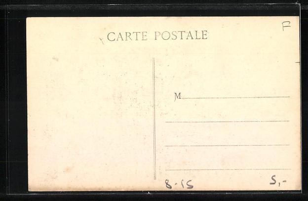 AK Lyon, Exposition Internationale 1914, Pousse-Pousses, Place Bellecour, Rikscha 1