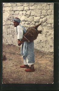 AK Jerusalem, Water Carrier, Wasserträger