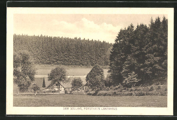 AK Dassel, Forsthaus Lakenhaus im Solling