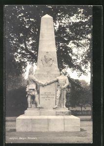 AK Potsdam, Kriegerdenkmal des 1. Garde-Regiments zu Fuss