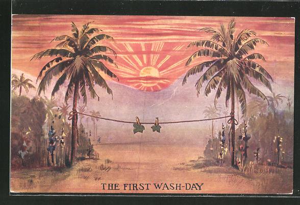 AK Waschtag bei Adam und Eva