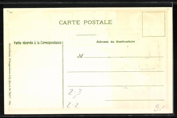 Präge Ak Briefträger Mit Brief Versch Briefmarken Briefkasten Nr