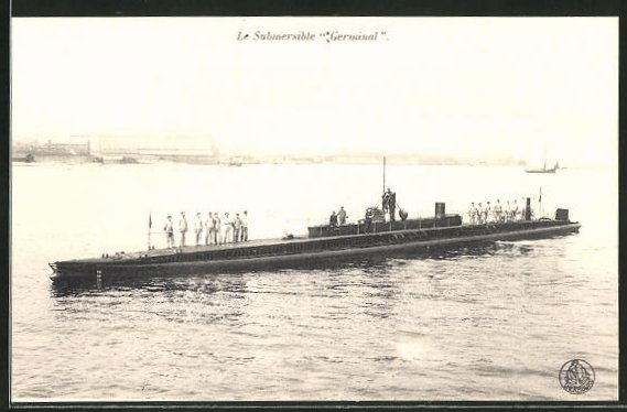AK U-Boot Le Submersible Germinal
