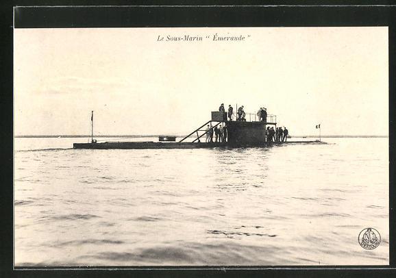 AK U-Boot Le Sous Marin