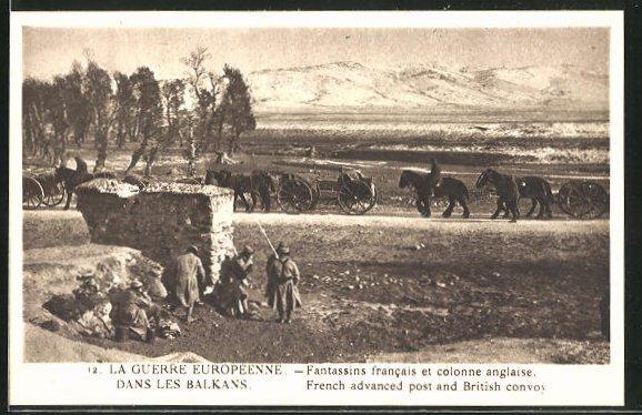 AK La Guerre Europeenne dans les Balkans