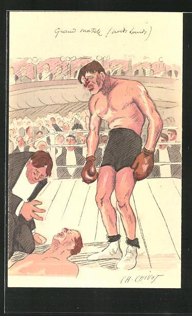 AK Boxer schickt den Gegner auf die Bretter