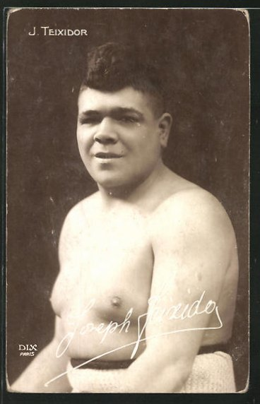AK Boxer Joseph Teixidor im Portrait