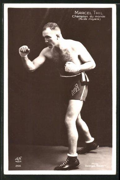AK Boxer Marcel Thil, Champion du monde