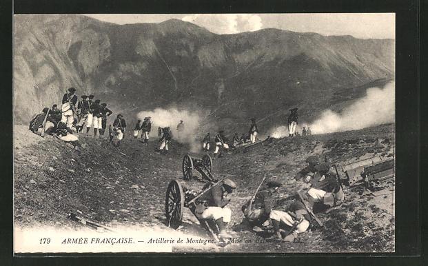 AK Artillerie de Montagne