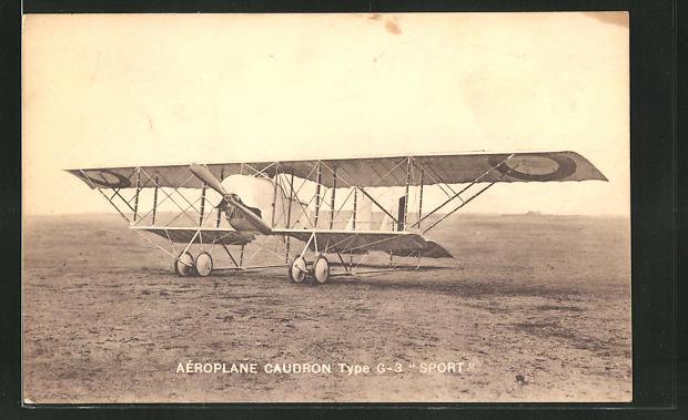 AK Aeroplane Caudron Type G-3