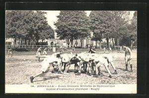 AK Joinville, Ecole Normale Militaire de Gymnastique, Centre d'Instruction physique, Rugby