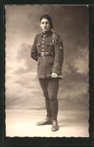 AK Infanterie, Alpenjäger in Uniform
