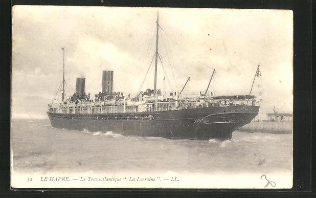 AK Passagierschiff