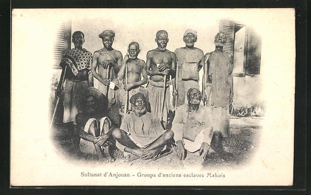 AK Sultanat d'Anjouan, Groupe d'anciens esclaves Makois