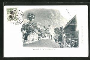 AK Muong-Ngoi, Une Rue, Strassenpartie