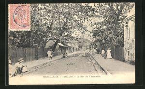 AK Tamatave, La Rue du Commerce