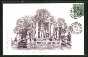 AK Vientiane, Ruines de Pagode
