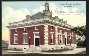 AK Greenwood, SC, United States Post Office