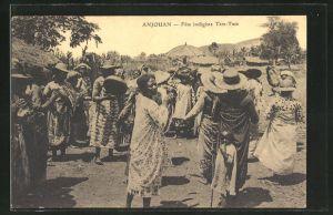 AK Anjouan, Fete indigène Tam-Tam