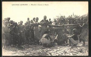 AK Grande Comore, Moulin à Cannes à Sucre