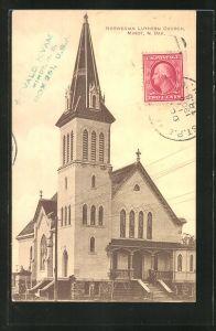 AK Minot, ND, Norwegian Luthern Church