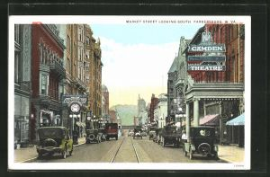 AK Parkersburg, WV, Market Street looking south