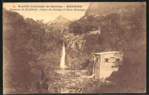 AK Bambao / Anjouan, Chute de Tatinga et usine electrique